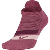 Nike Dry Cushion Dynamic Arch No Show Running, Bronze/Pink