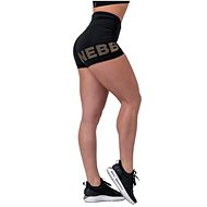 Nebbia Gold Print, Black - Shorts