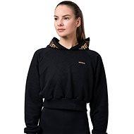 Nebbia Golden Crop, Black - Sweatshirt