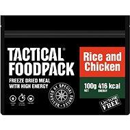 Tactical Foodpack Rýže s kuřecím masem - Jídlo