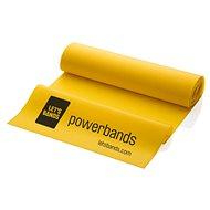 LETS BANDS FLEX žlutý - Posilovací guma