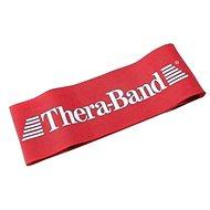 THERA-BAND Loop 7,6 x 30,5 cm, červená, středně silná - Posilovací guma