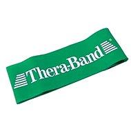 THERA-BAND Loop 7,6 x 30,5 cm, zelená, silná - Posilovací guma