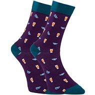 Dots Socks DTS-SX-407-F fialové vel. 43 - 46 (1ks) - Ponožky