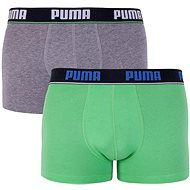 Puma 2Pack 521025001 927 - gray-green, multicolour - Boxer Shorts