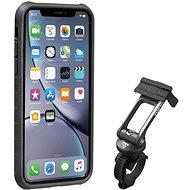 Topeakl Ridecase pro iPhone XR černá/šedá - Držák na mobilní telefon