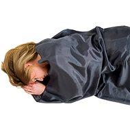 Lifeventure Silk Sleeping Bag Liner, Grey, Rectangular - Sleeping Bag Liner