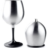 Kempingové nádobí GSI Outdoors Glacier Stainless Nesting Red Wine Glass - Kempingové nádobí