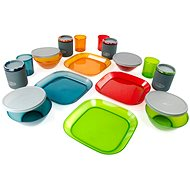 GSI Outdoors Infinity 4 Person Deluxe Tableset Multicolor - Kempingové nádobí