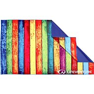 Lifeventure Printed SoftFibre Trek Towel striped planks
