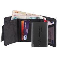 Lifeventure RFiD Charger Wallet + Power Bank, Grey - Wallet