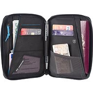 Lifeventure RFiD Mini Travel Wallet, Grey - Wallet