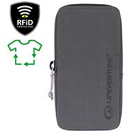 Lifeventure RFiD Phone Wallet Recycled grey