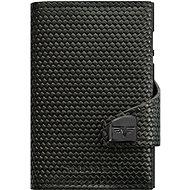Tru Virtu Click & Slide Diagonal Carbon Black - Wallet