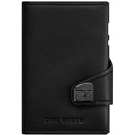 Tru Vitru Click and Slide TWIN - Nappa Black Leather - Wallet