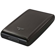 TRU VIRTU TAZOR Credit Card Case Fan - Silk Black Magic - Wallet