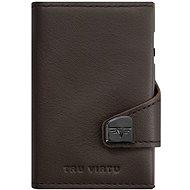 Tru Virtu Click & Slide Twin Wallet - Nappa Brown Leather - Wallet