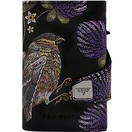 Tru Virtu  Click & Slide - 3D Bird & Clover/Titan - Peněženka