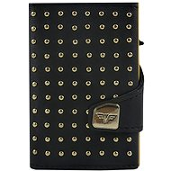 Tru Virtu peněženka Click & Slide Rivets Punk Gold - Peněženka