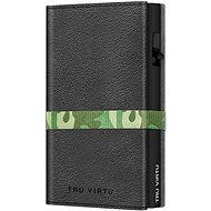 Peněženka Tru Virtu peněženka Click & Slide Strap Cross Nappa Black Camouflage / Black