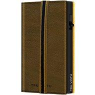 Peněženka Tru Virtu peněženka Click & Slide Strap Edge Caramba Mossgreen Earth / Black