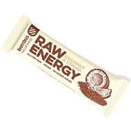 Bombus Raw energy Cocoa+coconut 50g 4pack - Raw tyčinka