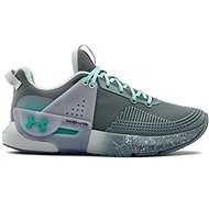 Under Armour HOVR Apex, Grey/Turquoise - Running Shoes