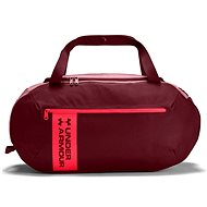 Under Armour Roland Duffel MD, Burgundy/Red - Sports Bag