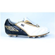 Umbro SX VALOR II -A-HG White/Black/Gold, size 44 EU / 280mm - Football Boots