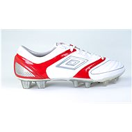 Umbro STEALTH PRO HG White/Silver/Red, size 42 EU / 270mm - Football Boots