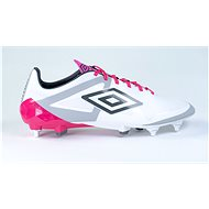 Umbro Velocita PRO SG White/Pink, size 41 EU / 260mm - Football Boots