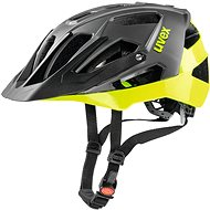 Uvex Quatro, Black Neon-Lime M/L - Helma na kolo