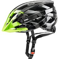 Uvex I-Vo C, Dark Silver-Green S/M - Helma na kolo