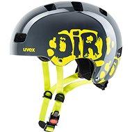 Uvex Kid 3, Dirtbike Grey-Lime M - Helma na kolo