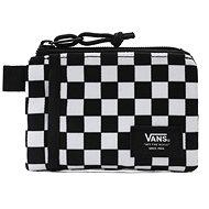 Vans MN VANS POUCH WALLET Black/White Che - Peněženka