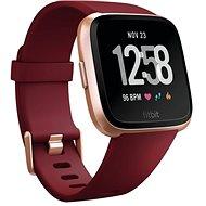 Fitbit Versa - Ruby Band / Rose Gold Aluminum - Chytré hodinky
