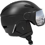 Lyžařská helma Salomon PIONEER VISOR Black