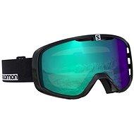 Salomon AKSIUM PHOTO Bk-white/AW Blue - Ski glasses
