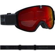 Salomon TRIGGER Black/Univ. Mid Red - Lyžařské brýle