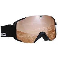 Salomon XVIEW ACCESS Bk-Wh/Univ.T.Oran - Lyžařské brýle