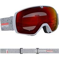 Salomon XT ONE Grey matt/Univ.Mid Red - Lyžařské brýle