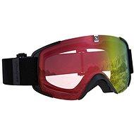 Salomon XVIEW PHOTO Black/AW Red - Ski glasses