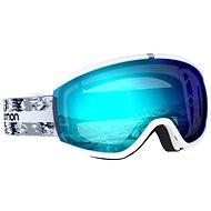 Salomon iVY White Glitch/Univ Mid Blue - Lyžařské brýle