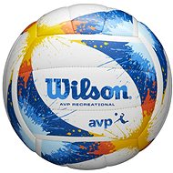 Wilson AVP Splatter - Beachvolejbalový míč