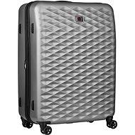 """Wenger Lumen 28"""" stříbrná - Cestovní kufr s TSA zámkem"""