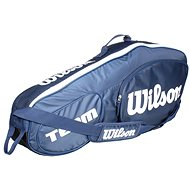 Wilson Team III 3 Pack Blue White - Sportovní taška