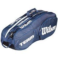 Wilson Team III 6 Pack Blue White - Sportovní taška