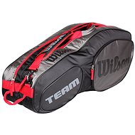Wilson Team III 6 Pack Black grey - Sportovní taška
