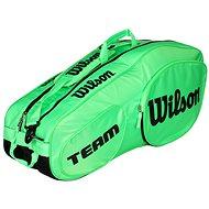 Wilson Team III 6 Pack Green Black - Sportovní taška