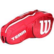 Wilson Team III 3 Pack Red White - Sportovní taška